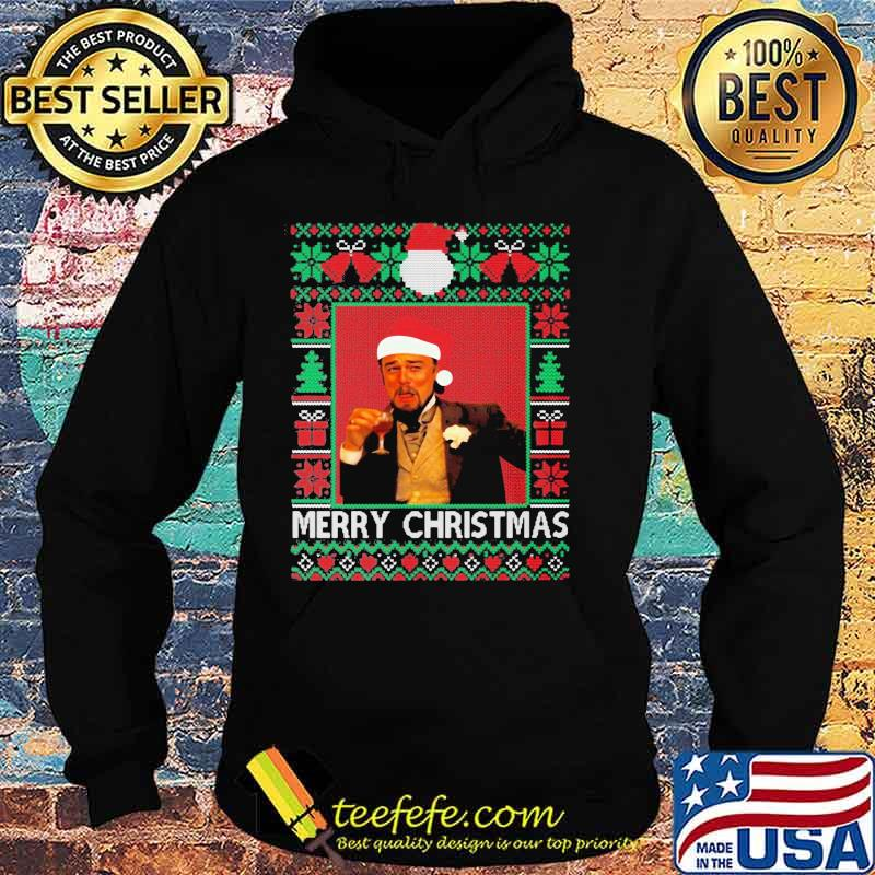 Santa Claus Leonardo Big Fat Quarantined Christmas 2020 Pandemic Meme Ugly Christmas Shirt Hoodie