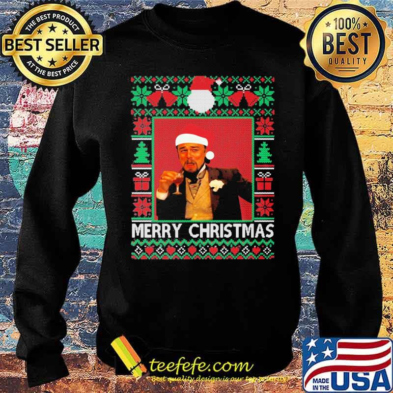 Santa Claus Leonardo Big Fat Quarantined Christmas 2020 Pandemic Meme Ugly Christmas Shirt Sweater