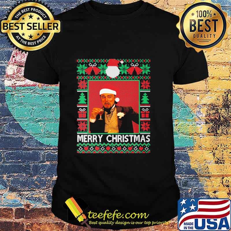 Santa Claus Leonardo Big Fat Quarantined Christmas 2020 Pandemic Meme Ugly Christmas Shirt