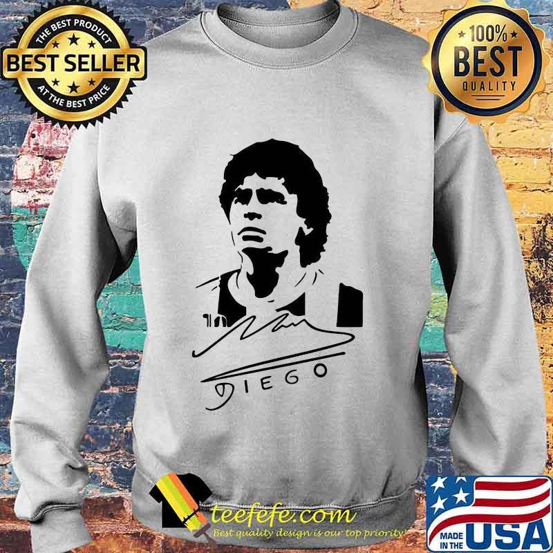 Signature Diego Maradona Legend Argentina World Cup N10 Shirt Sweater