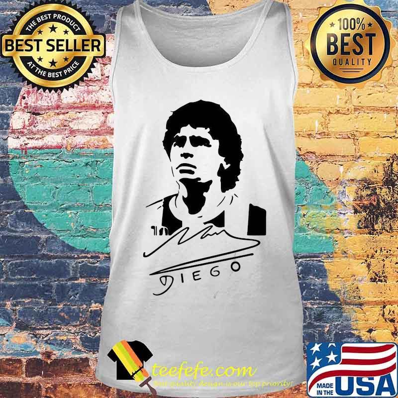 Signature Diego Maradona Legend Argentina World Cup N10 Shirt Tank top