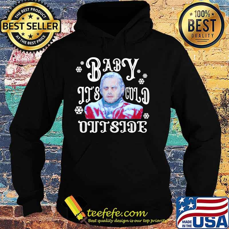 The Shining Baby It's Cold Outside Horror Movies Ugly Holiday Shirt Hoodie