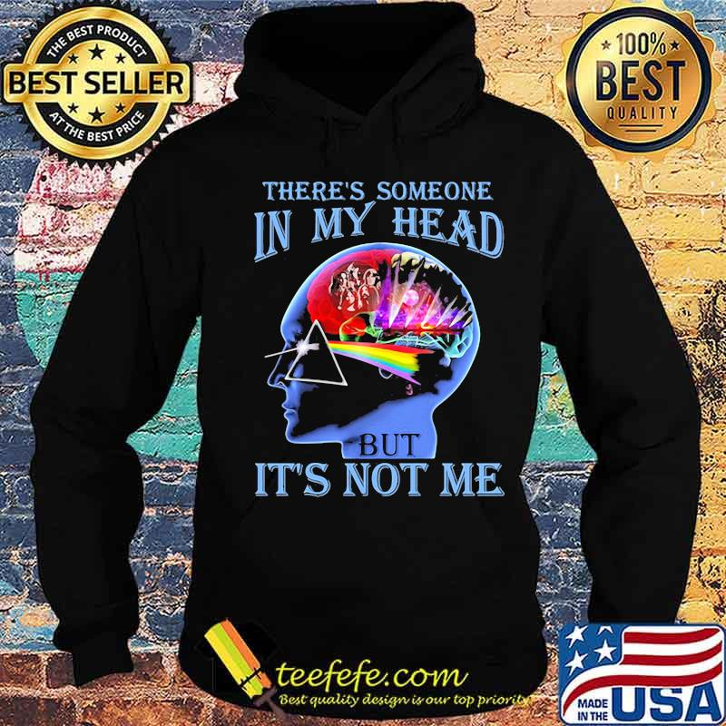 There's Someone In My Head But It's Not Me Brain People Pink Floyd Lgbt Shirt Hoodie