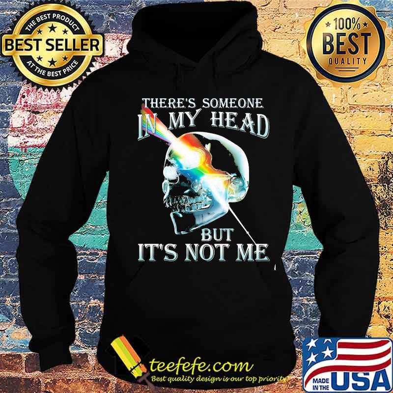 There's Someone In My Head But It's Not Me Skull Pink Floyd Lgbt Shirt Hoodie