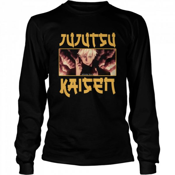 Satoru Gojo Jujutsu Kaisen Anime Manga Lover Fans Gift T-Shirt
