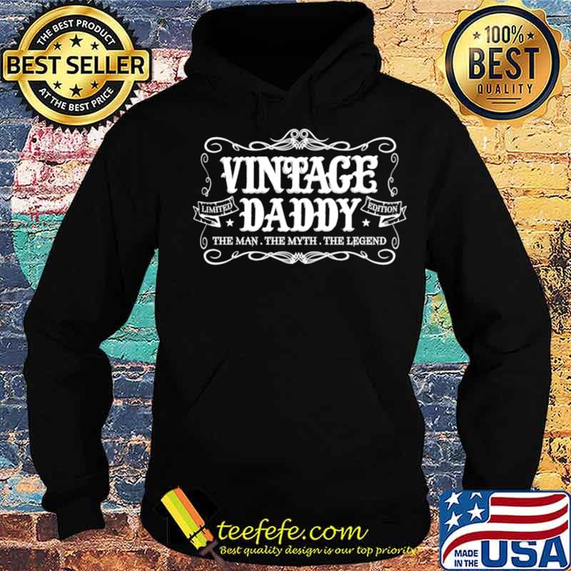 Fathers Day from Son Daughter Wife Vintage Daddy Hoodie