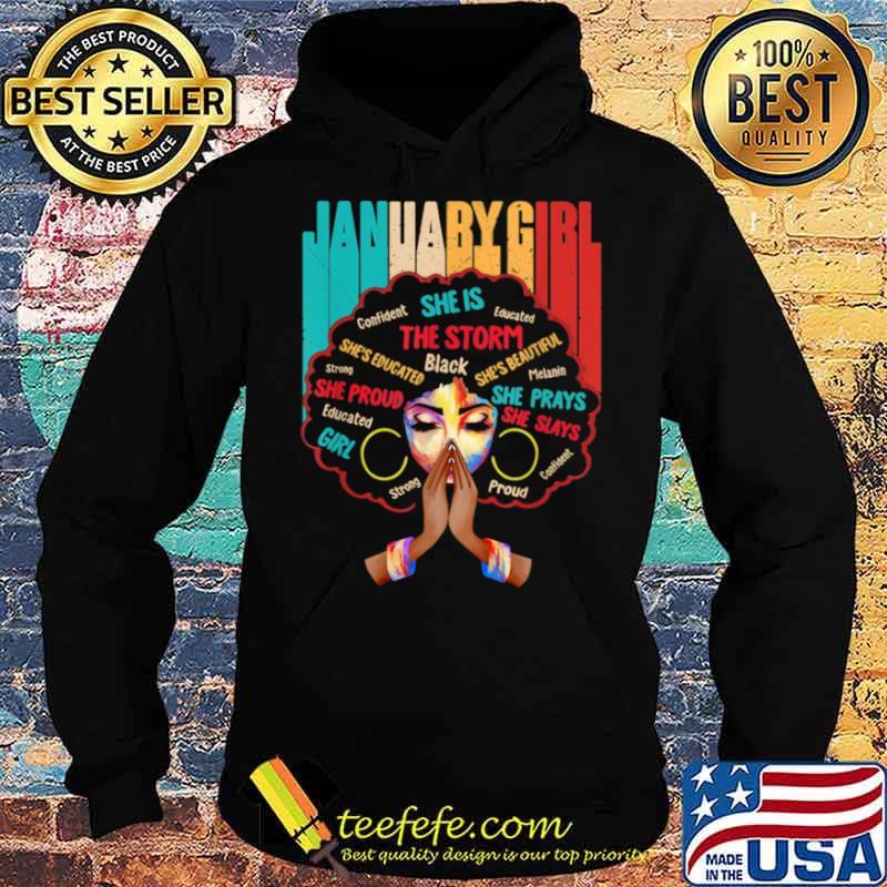 Juanary Girls Queens Are Born In Juanary Girl Hoodie