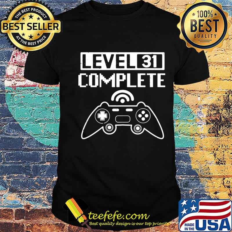 Level 31 Complete shirt