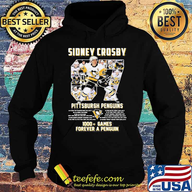 Sidney Crosby Pittsburgh Penguins Forever Number 87 Shirt Hoodie