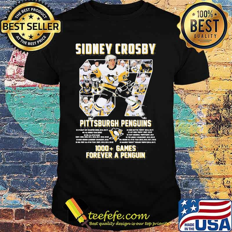 Sidney Crosby Pittsburgh Penguins Forever Number 87 Shirt