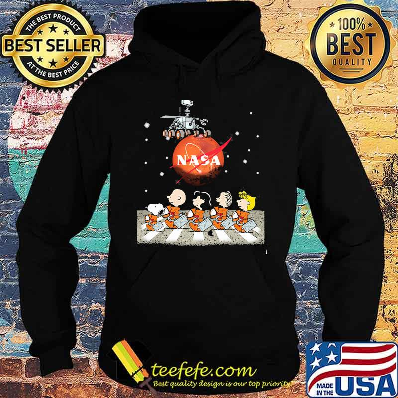 Snoopy Charlie And Friends The Beatles Nase Perseverance Mars Shirt Hoodie