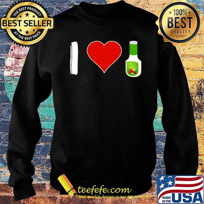 I Love Ranch Food Vegan Vegetarian Sweater