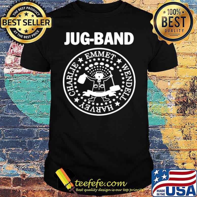 Jug Band Charlie Emmet Wendell Hervey shirt
