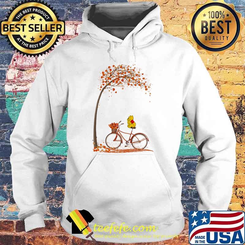 Autumn Pooh Bicycle Shirt Hoodie