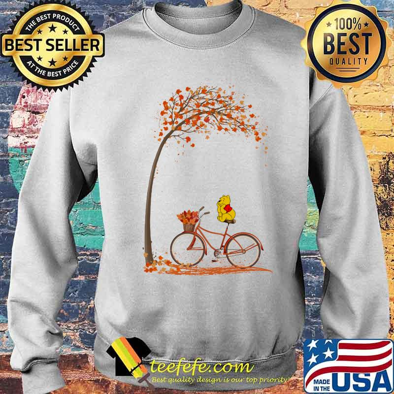 Autumn Pooh Bicycle Shirt Sweater