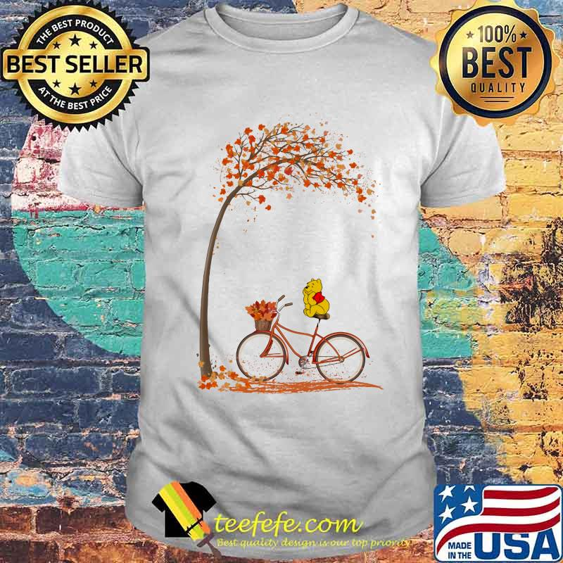 Autumn Pooh Bicycle Shirt