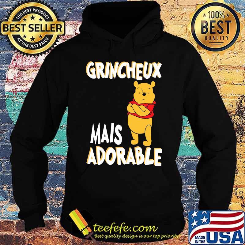Grincheux Mais Adorable Pooh Shirt Hoodie