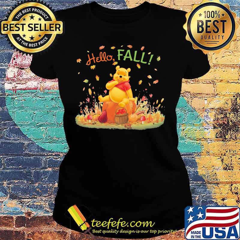 Hello Fall Pool Shirt Ladies tee