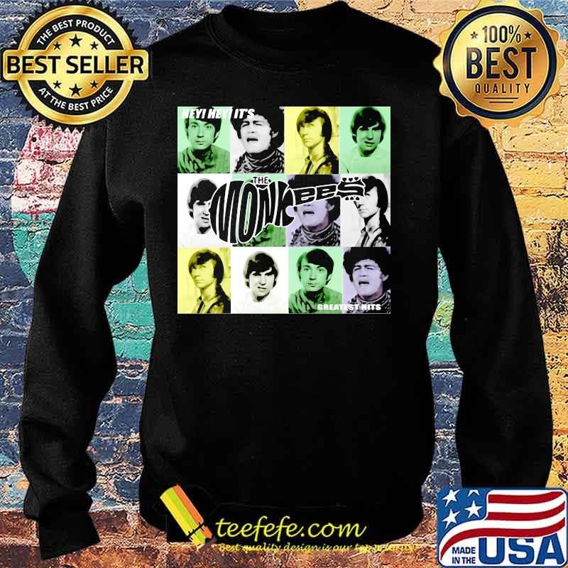Hey Greatest Hits The Monkees Shirt Sweater