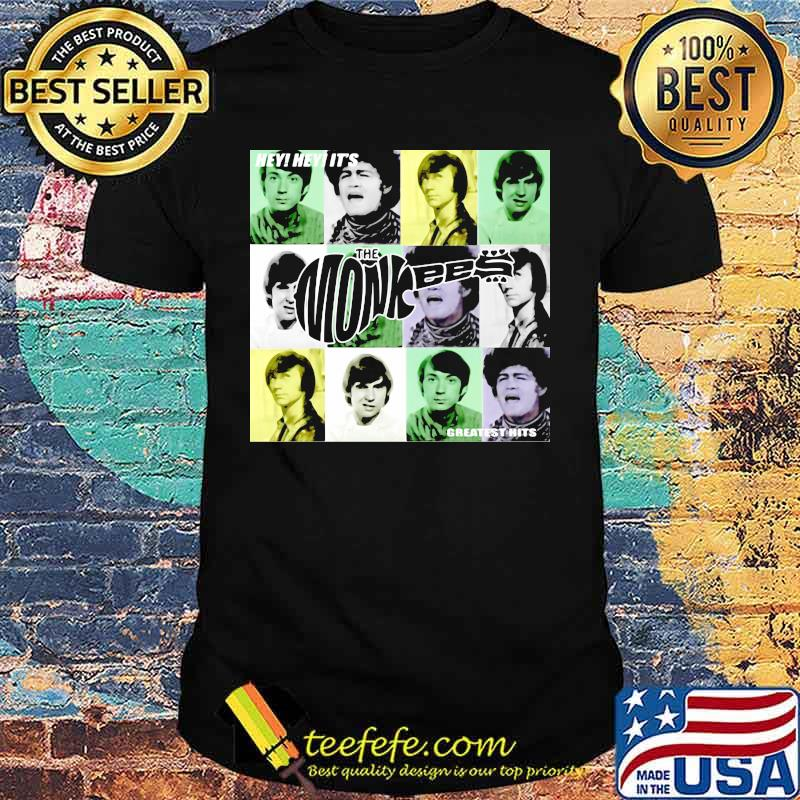 Hey Greatest Hits The Monkees Shirt