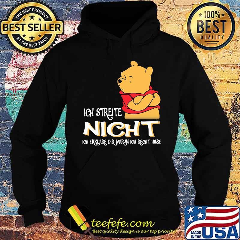 Ich Streite Night Dir Warum Ich Recht Hase Pool Shirt Hoodie