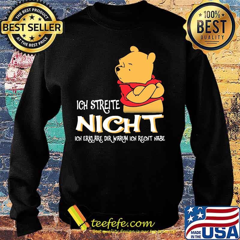 Ich Streite Night Dir Warum Ich Recht Hase Pool Shirt Sweater