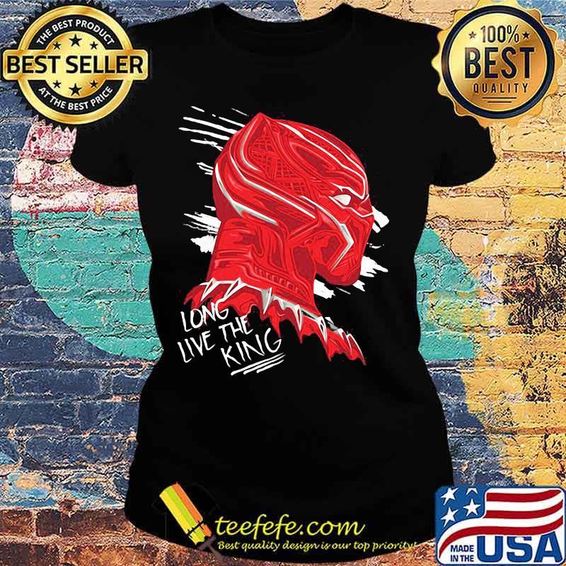 Long Live The King Black Panther Shirt Ladies tee