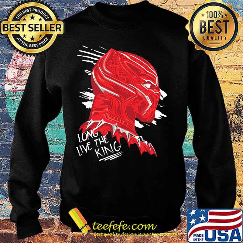 Long Live The King Black Panther Shirt Sweater