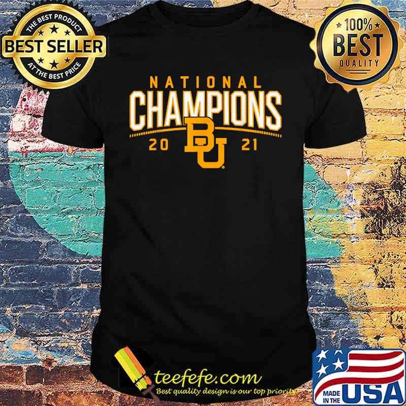 National champions 2021 Baylor Shirt