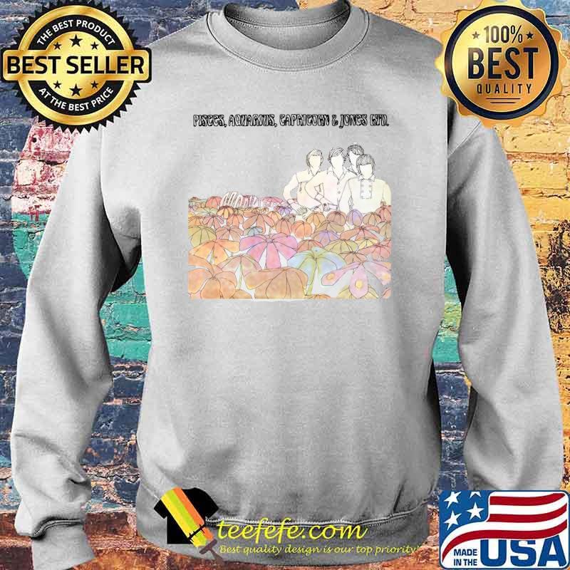 Pisces Aquarius Capricorn The Monkees Flowers Shirt Sweater