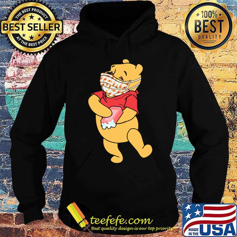 Pooh Wear Mask Corona Virus Shirt Hoodie