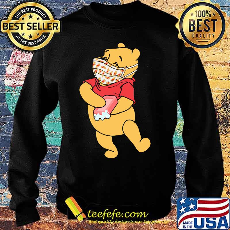 Pooh Wear Mask Corona Virus Shirt Sweater