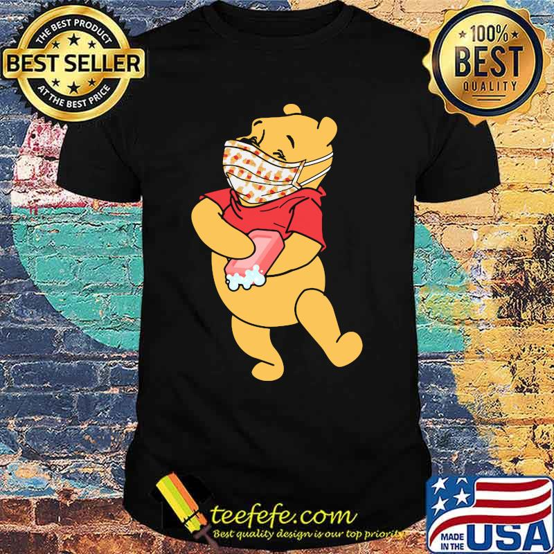 Pooh Wear Mask Corona Virus Shirt