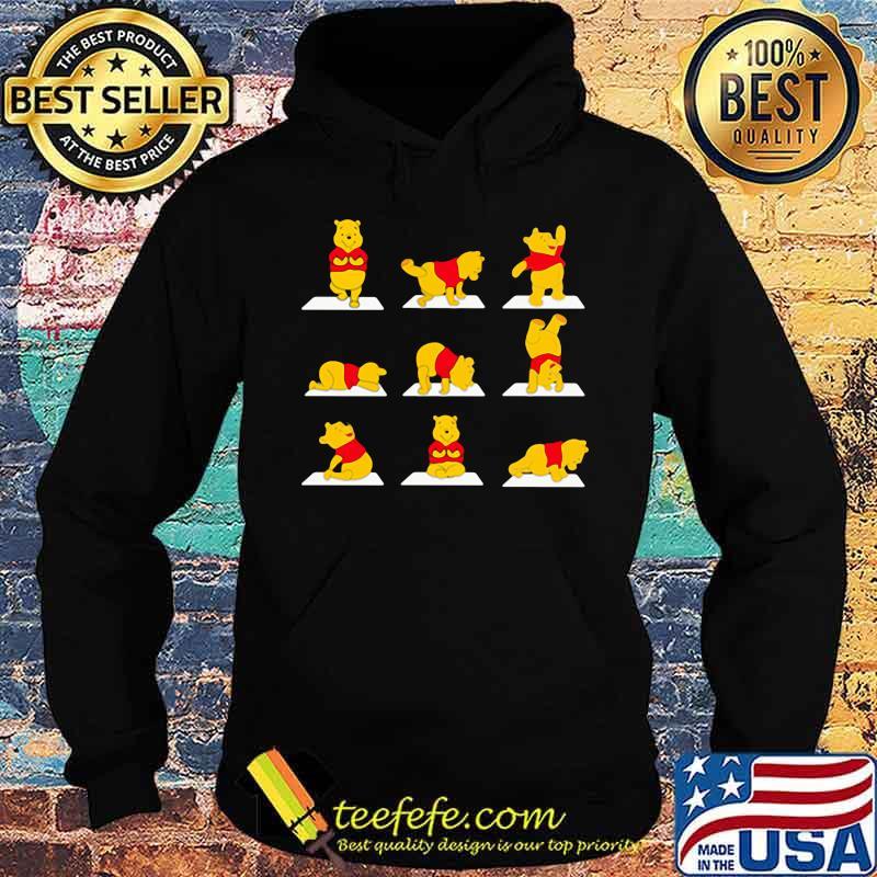 Pooh Yoga Shirt Hoodie