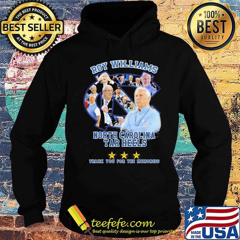 Roy Williams North Carolina 2003 2021 Thank You For The Memories Signature Shirt Hoodie