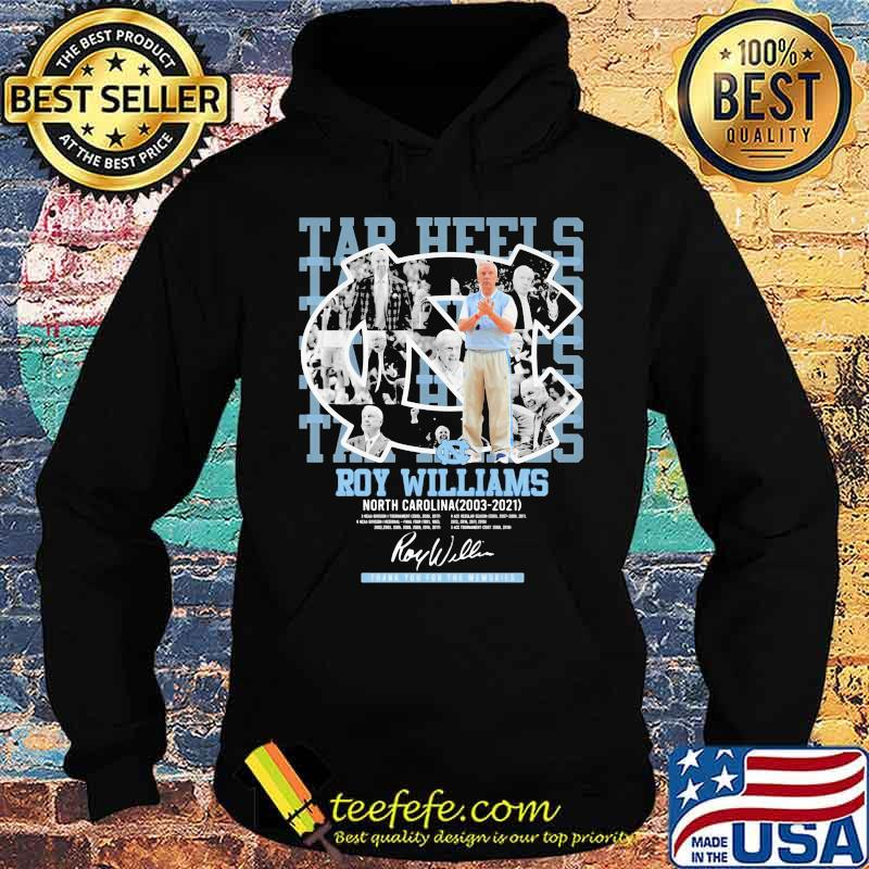 Roy Williams North Carolina Tar Heels Thank You For The Memories Shirt Hoodie