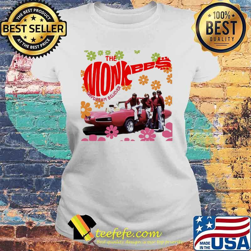 The Monkees Day Dream Believe Flower Shirt Laides tee