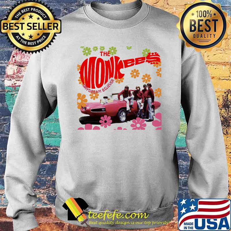 The Monkees Day Dream Believe Flower Shirt Sweater