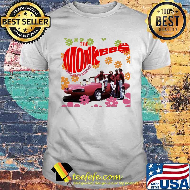 The Monkees Day Dream Believe Flower Shirt