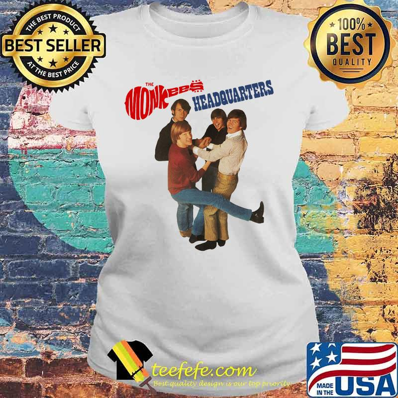 The Monkees Headquarters Shirt Laides tee