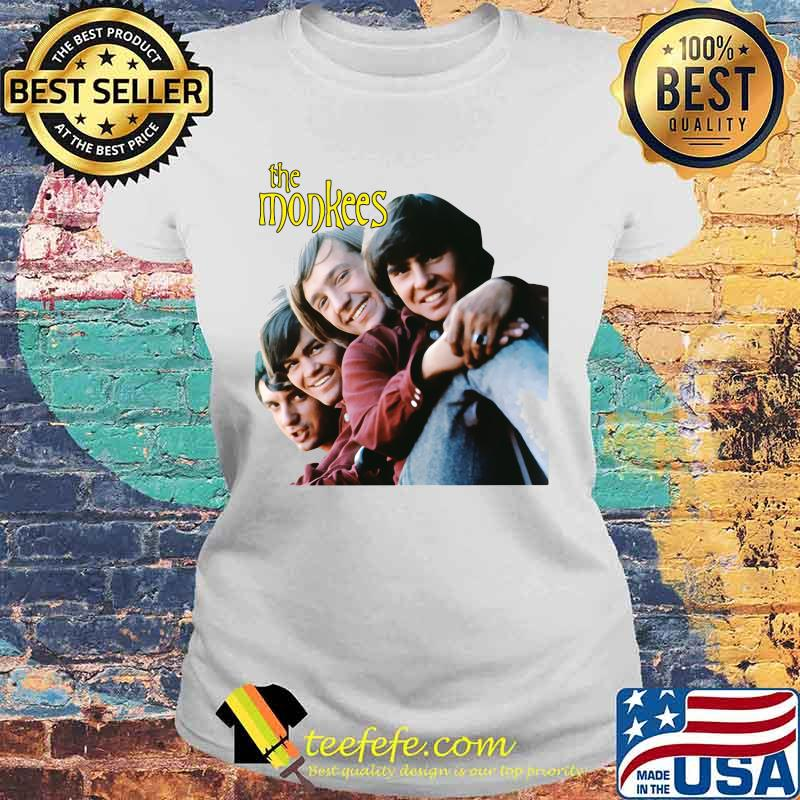 The Monkees Present Band Music Shirt Laides tee
