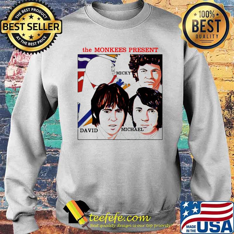 The Monkees Present Micky David And Michael Shirt Sweater