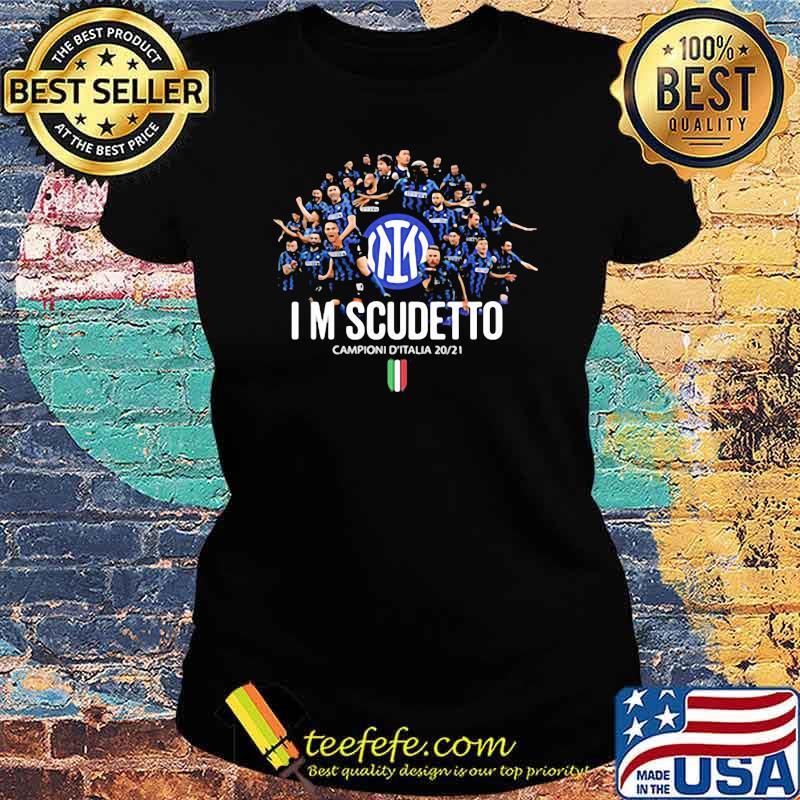 I'm Scudetto Campioni D'Italia 2020 2021 Ladies tee