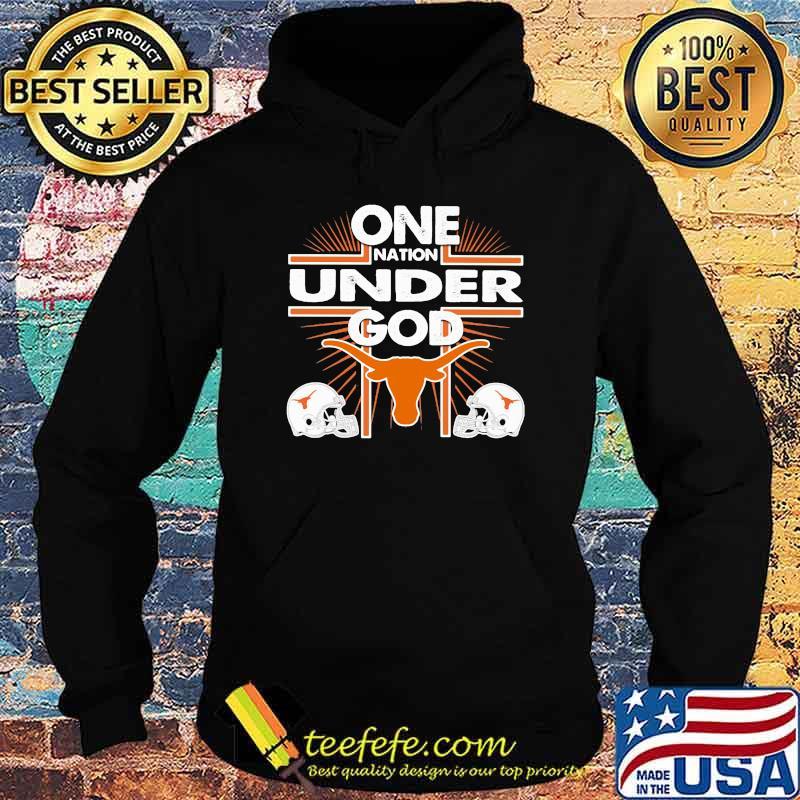 One Nation Under God Texas Baseball Hoodie