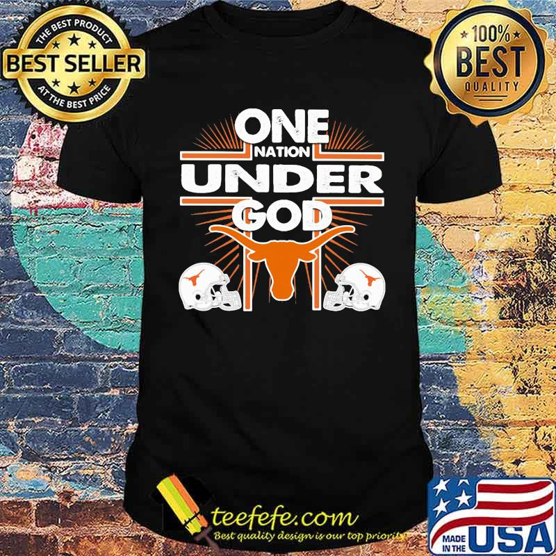 One Nation Under God Texas Baseball shirt
