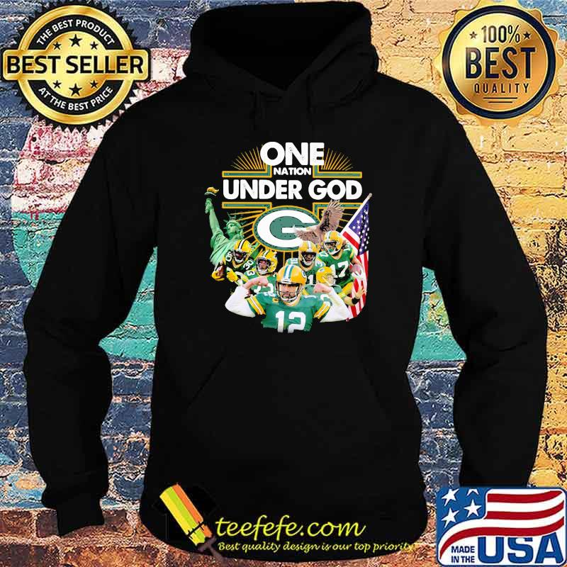 One Under God Green Bay Packers Shirt Hoodie