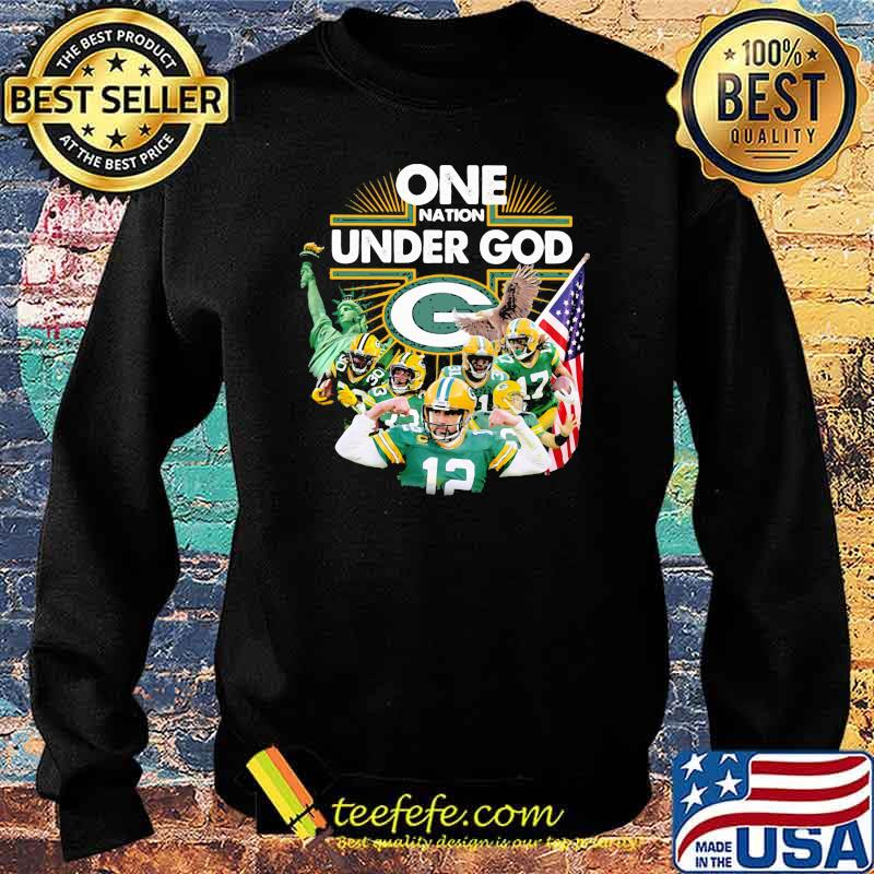 One Under God Green Bay Packers Shirt Sweater