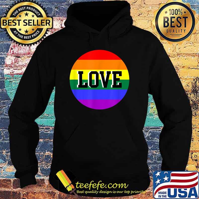 Rainbow Love Lgbt Shirt Hoodie