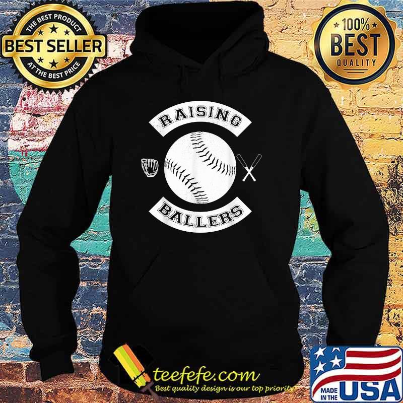 Raising Ballers Baseball Softball Shirt Hoodie