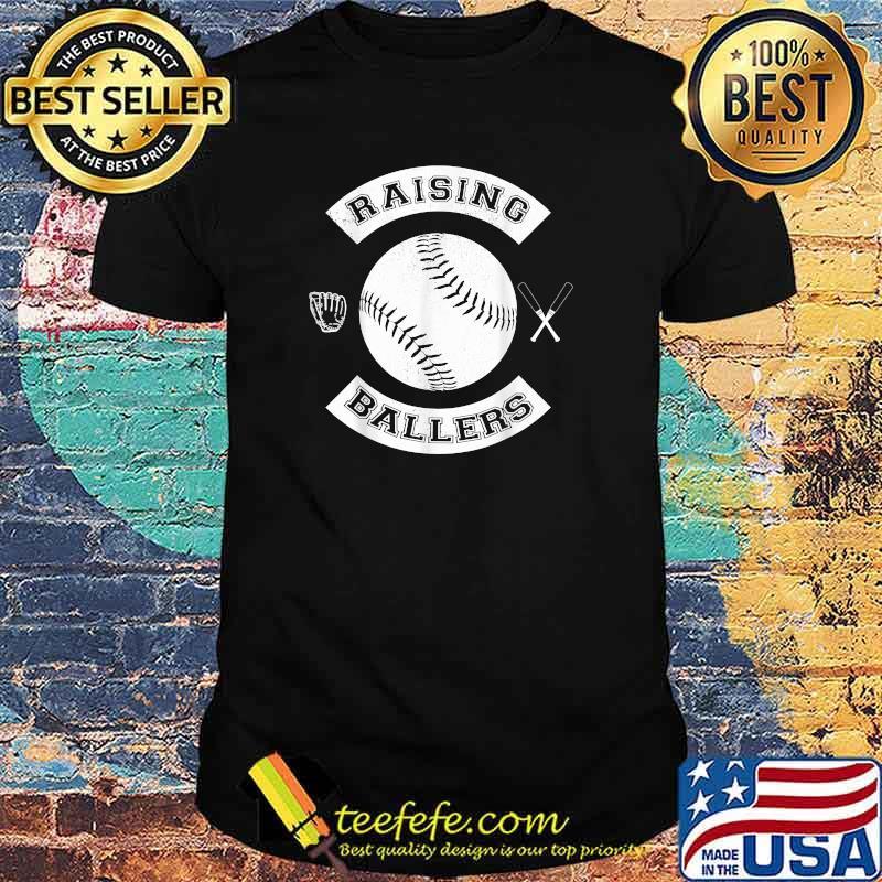 Raising Ballers Baseball Softball Shirt